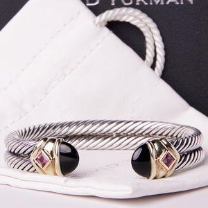 Yurman 10mm Renaissance Onyx Bracelet